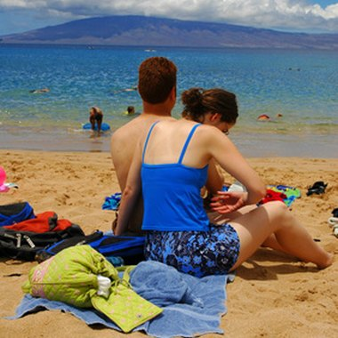 Kahoolawe is one of the many offshore islands that dot the Maui coastline.