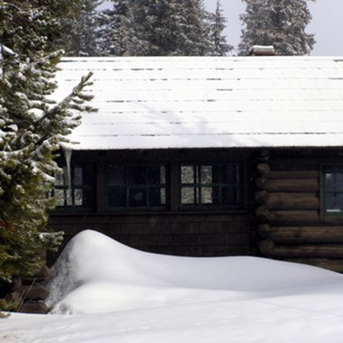 Most Alaska cabins are available winter and summer.