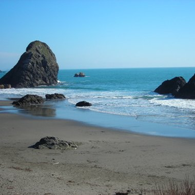 Nearly all of Oregon's immediate coast is publicly owned.