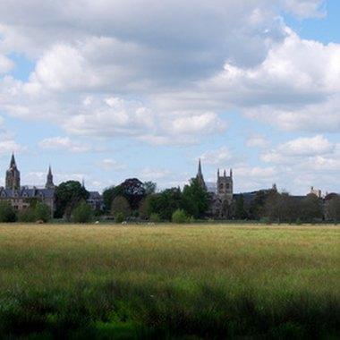 Oxford University is about 50 miles from London.