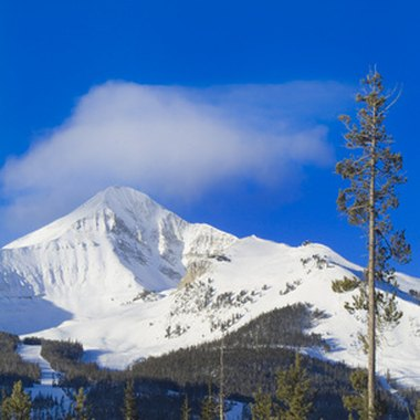 Big Sky, Montana, is one of several resort areas near Yellowstone National Park.