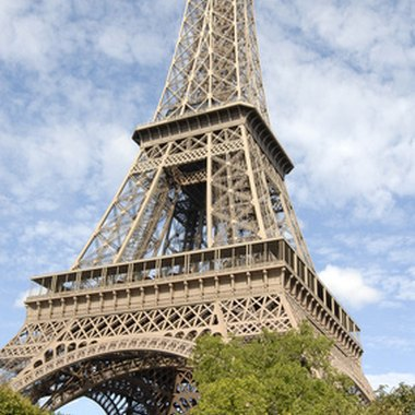 The Eiffel Tower, symbol of Paris, is on the Rive Gauche.