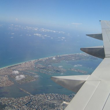 A picturesque aerial view of the Metropolitan Miami area.