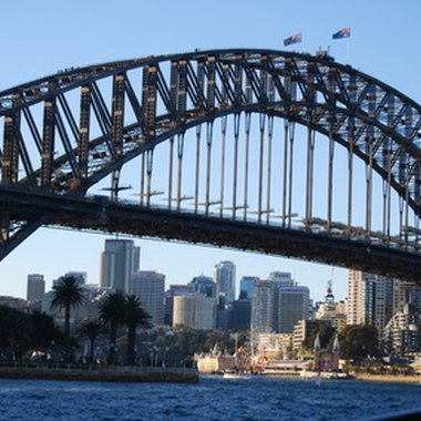 The Sydney Harbor Bridge is just one of Sydney's many iconic attractions.