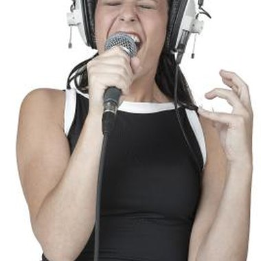 Avoid screaming while you sing to preserve your vocal cords.