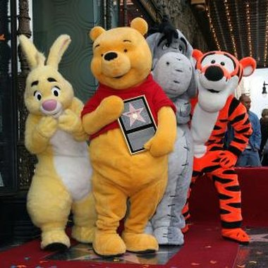 Winnie-the-Pooh and friends are popular with the young and old.