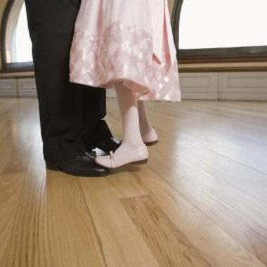 A father-daughter dance helps to forge a strong relationship between dads and daughters.