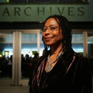 Alice Walker, the Pulitzer Prize-winning author of