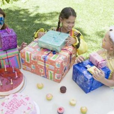 Successful birthday parties should be fun and age appropriate.