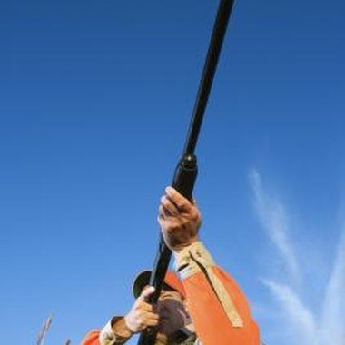 Properly holding your hunting firearm helps you take accurate shots.
