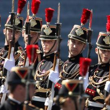 The Bastille Day military parade is held every year on July 14 in Paris.