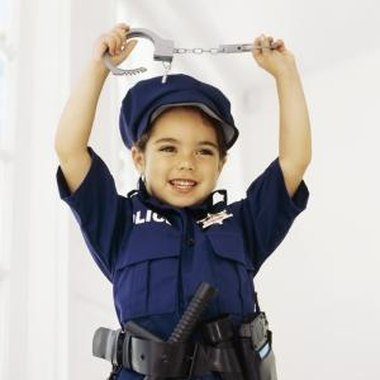 Make sure guests old and young dress as cops for your party.