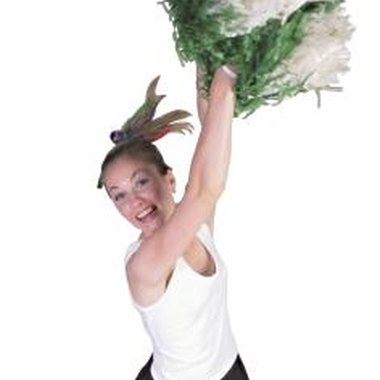 Make a cheerleading costume in your favorite colors.