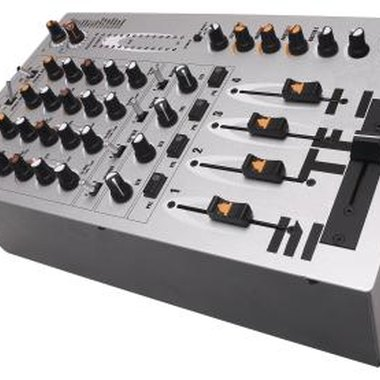 Most mixer boards allow effects such as reverb to be looped into the system.