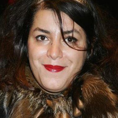 Author and illustrator Marjane Satrapi co-directed and co-wrote the film