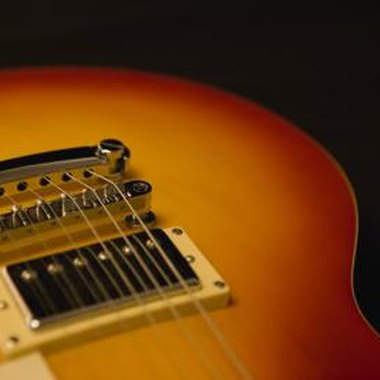 A sunburst effect is a classic guitar finish from the 1950s.