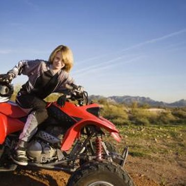 Four-wheeler riding is a popular sport in South Carolina.
