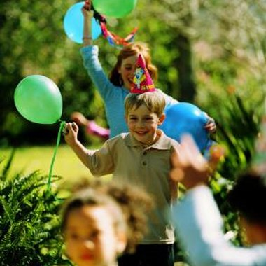 Include girls and boys in birthday party games and activities.