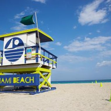 Miami Beach is one of South Florida's most fashionable vacation destinations.