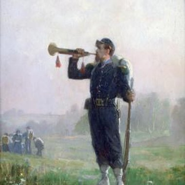 The bugle has a long military history for alerting soldiers.