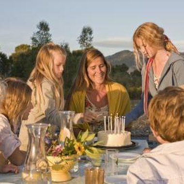 Use the natural beauty surrounding Fairview to enhance a birthday party.