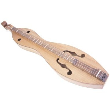 This hour glass dulcimer is one of the several shape-styles found in mountain dulcimers.