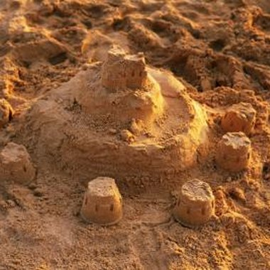 A sand castle competition can be held in your backyard sandbox.