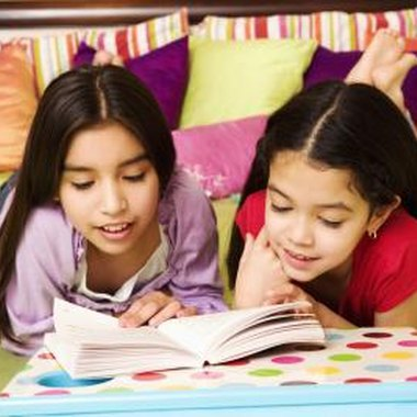 Reading games make reading exercises stimulating for students.
