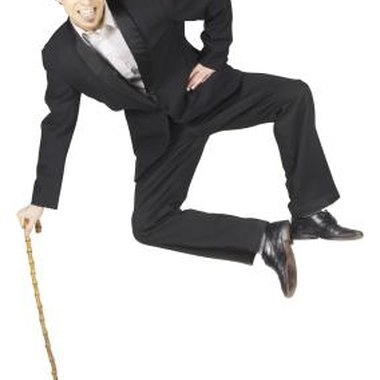 The dancing cane trick is a trick involves making a cane dance.