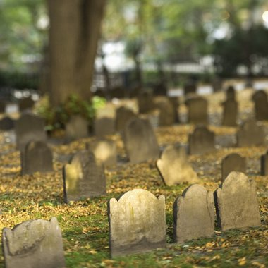 Cemeteries provide a backdrop for some haunted trails in New Jersey.