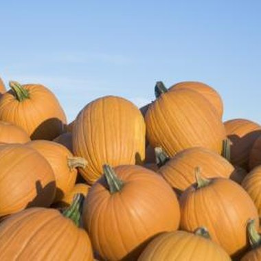Use pumpkins for Halloween games for 8-year-old children.