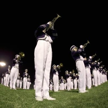 The trumpet is usually one of the loudest instruments on the marching band field.