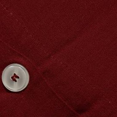 You can sew shirt buttons with a sewing machine.