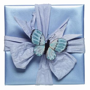 Use butterfly wishing wells at your butterfly-themed baby shower.