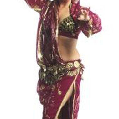 Play belly-dancing music at the party to get guests mingling and moving.