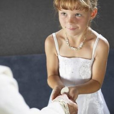 Plan an appropriate party to commemorate the momentous occasion of first communion.