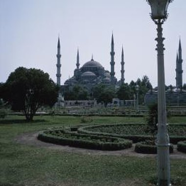 Once an Orthodox cathedral, Aya Sophia is now Istanbul's largest mosque.