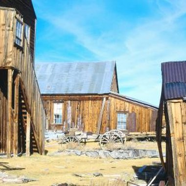 Wild west town style attractions are but one of the many possible locales for an