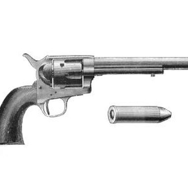 Reduce the size of the barrel and handle on your craft revolver.
