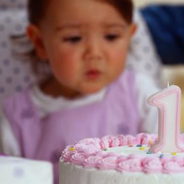 Most infants are oblivious to their first birthday. Focus on your guests.
