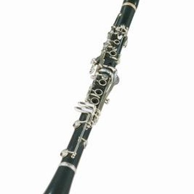 The bell is the flared portion at the bottom of the clarinet.