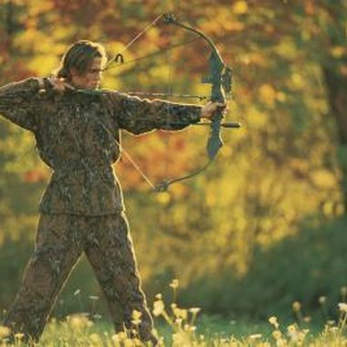 The stance is an important archery lesson for kids.