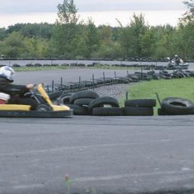Check age, height, weight and waiver requirements before going to a go-kart track.
