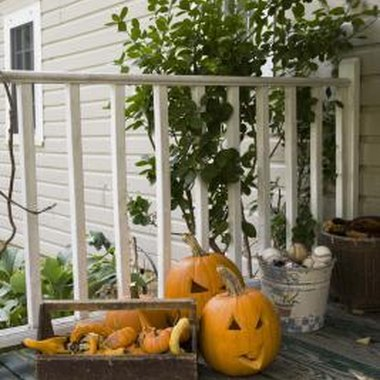 Halloween decorations are not all just for show - some are edible.