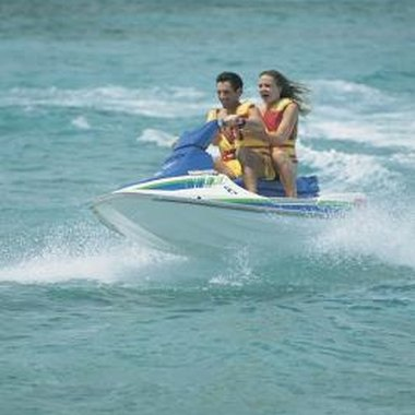 The paint on your Jet Ski can wear out over time.