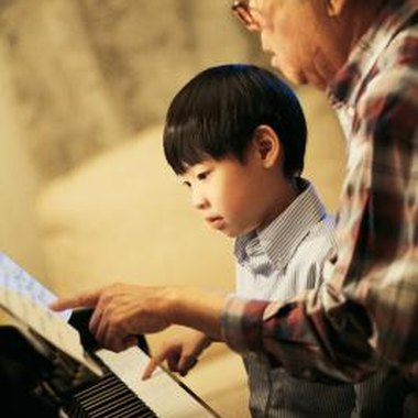 Piano lessons teach self-discipline and improve standardized test scores.