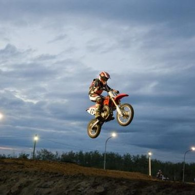 Create a party theme centered around the sport of dirt biking.