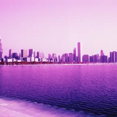 Chicago's waterfront properties offer picturesqe Lake Michigan views.