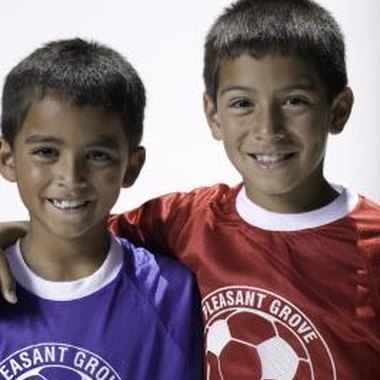 Whether you play for an independent or sponsored soccer team, there are ways to customize your jersey.