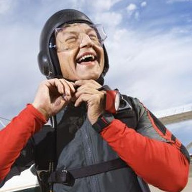 Skydiving brings a major rush to just about everyone who tries it.